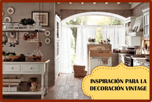 Decoración vintage de interiores: ¿Dónde inspirarse?