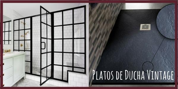 Platos de Ducha Vintage