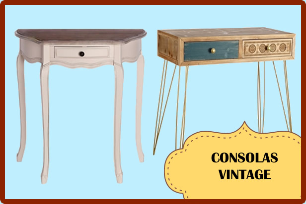 consolas vintage