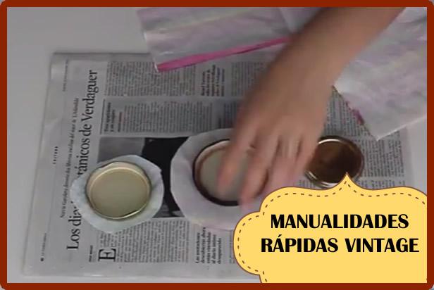 manualidades vintage