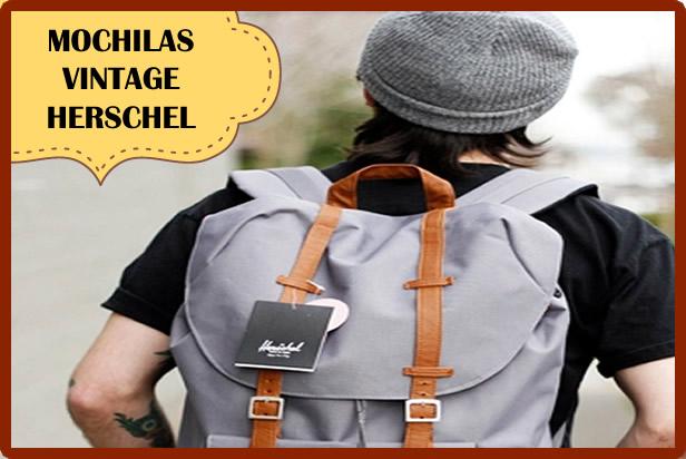 Mochilas Herschel, la revolución de las mochilas urbanas vintage