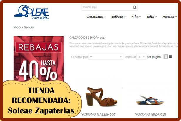 Soleae Zapaterias, una zapateria en Cádiz y online con las mejores marcas