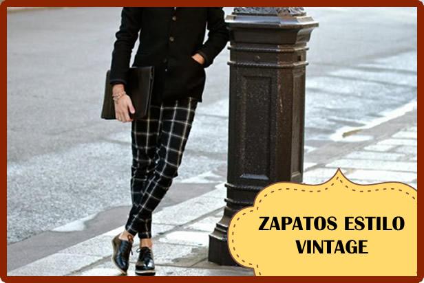 Tipos de zapatos para un look vintage