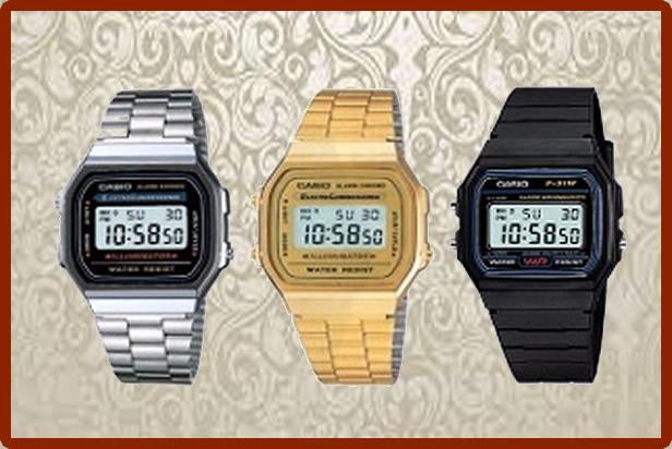 relojes modelos vintage retro casio