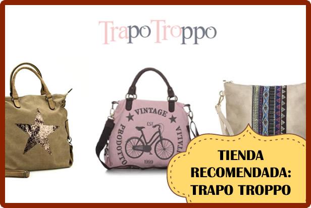 Bolsos y Bandoleras Trapo Troppo (Tiendas Online recomendadas)