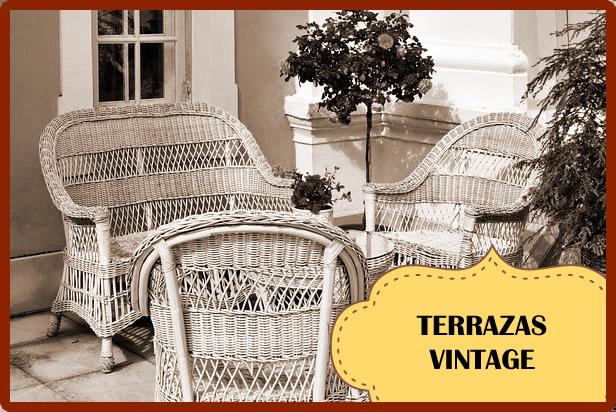 Decoración de Terrazas Vintage o Retro: Guía para decorar con estilo
