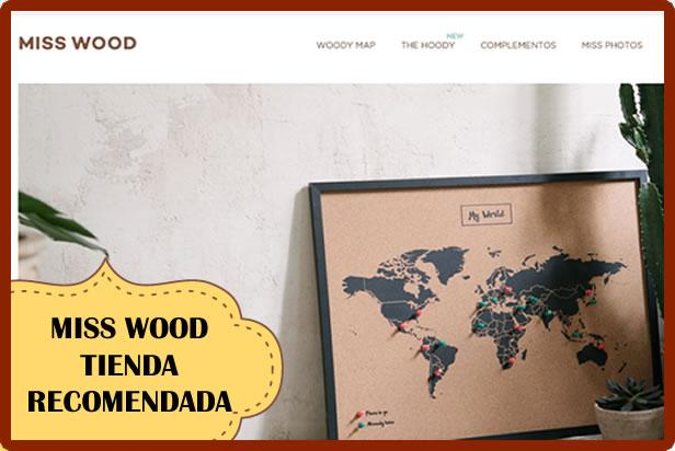 Miss Wood: Tienda Online recomendada de objetos de decoración para viajeros