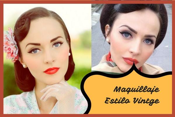 Consejos e ideas para un maquillaje vintage