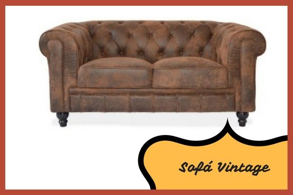¿Cuáles son los Sofás Vintage que son tendencia?