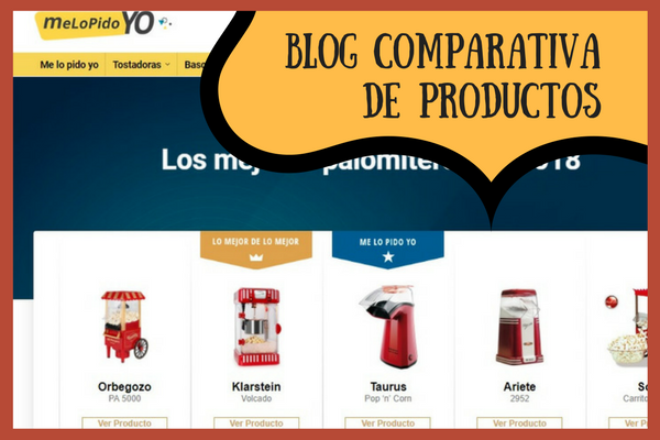 blog comparativa productos melopidoyo