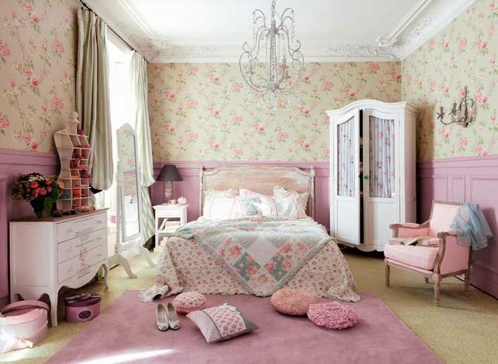 Ideas para decorar las paredes con estilo vintage