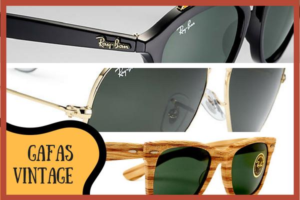 Las gafas vintage se ponen de moda