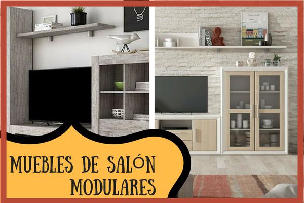 Salones modulares para darle un toque vintage a tu salón