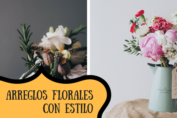 Ideas de Decoración Vintage con Flores