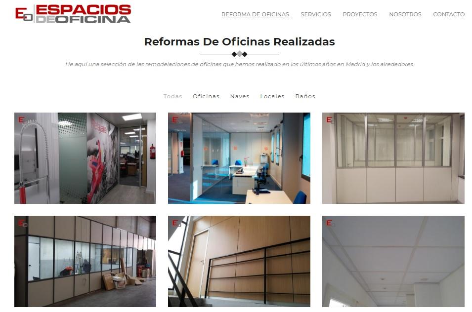 Empresa para reformas integrales de oficinas en Madrid
