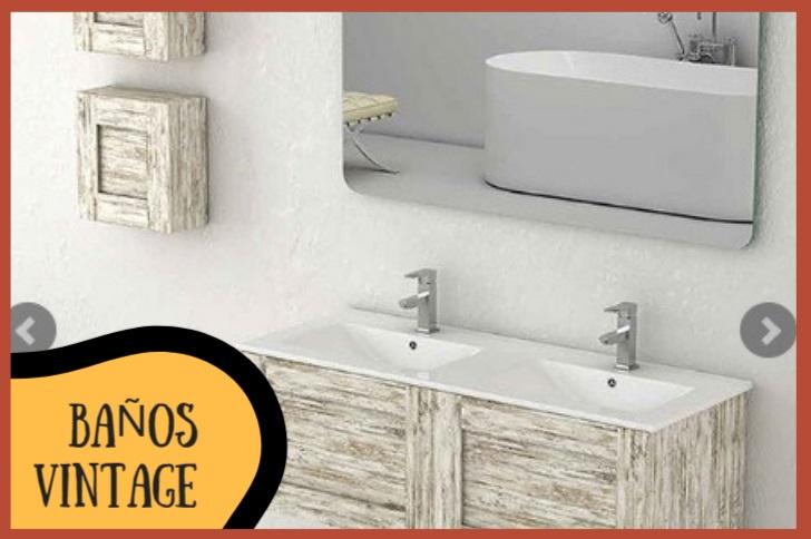 baño decoracion vintage 2