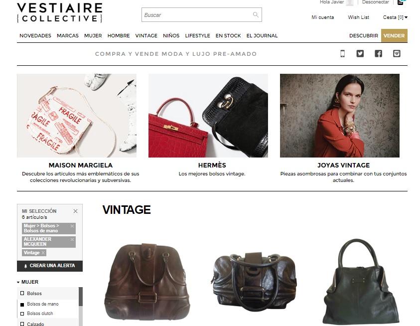 Vestiaire Collective: el mejor marketplace de moda vintage