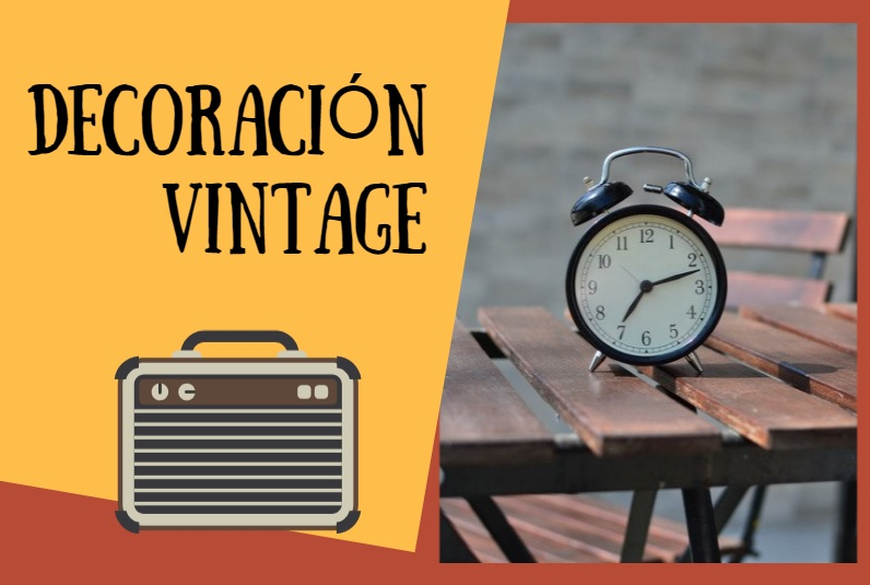 Ideas para decorar con estilo vintage