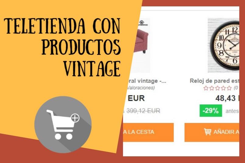 teletienda online productos vintage