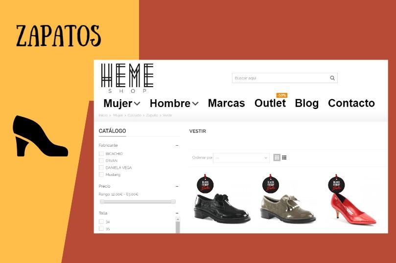 Heme Shops, tienda online de zapatos con mucho estilo vintage