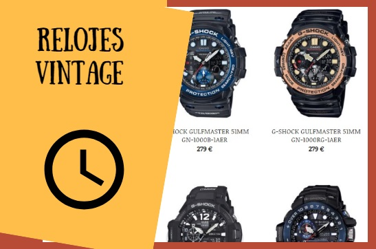 Relojes G-shock el regalo vintage para estas navidades