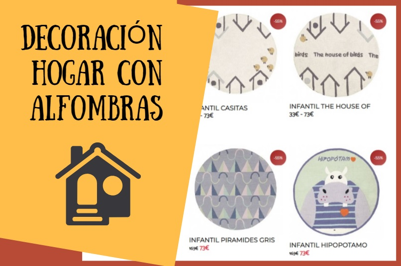 Alfombras redondas: cómo sacarles partido en la decoración de nuestro hogar