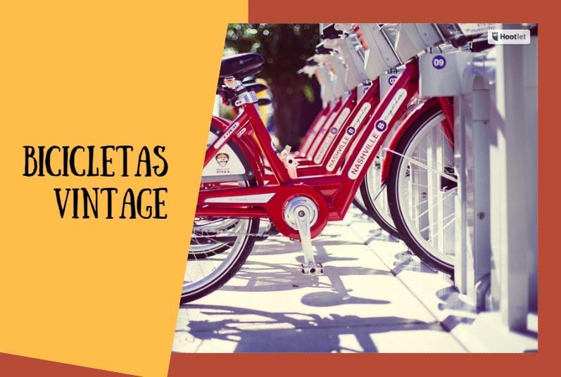 Bicicletas de Paseo Vintage