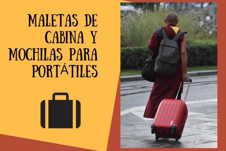 maletas de cabina y mochilas para portatiles