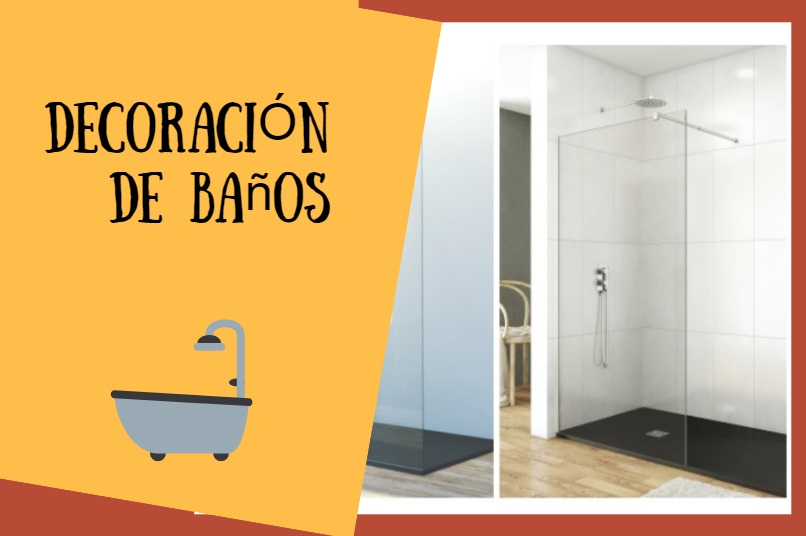 mamparas de baño decoracion