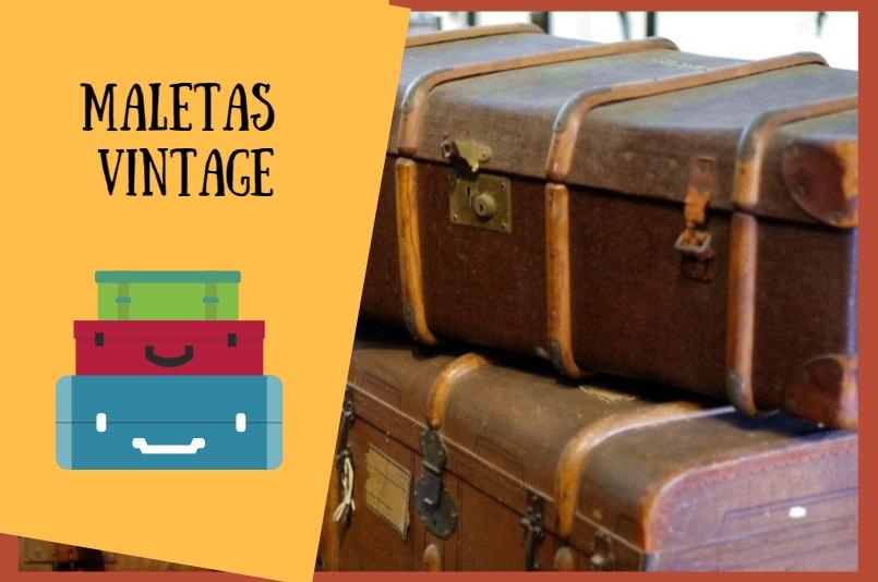 Ventajas de usar una maleta vintage
