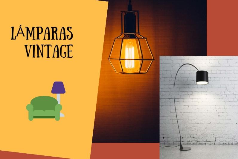 Lámparas con estilo vintage