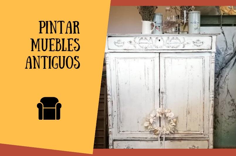 Cómo pintar muebles antiguos para obtener un estilo vintage