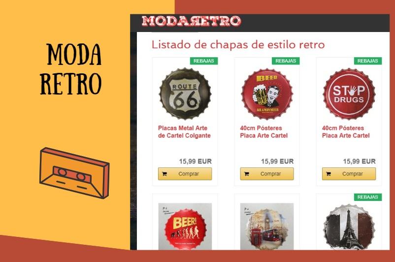 Modaretro, tu tienda especializada en articulos Retro y Vintage