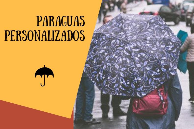 Paraguas Personalizados con diseños vintage