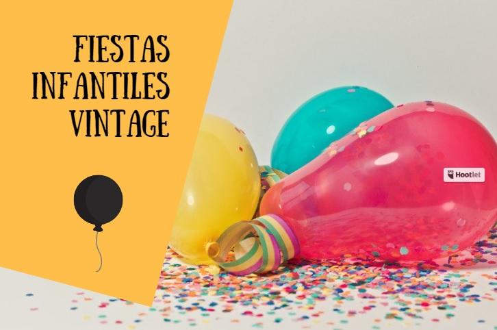 fiestas infantiles vintage