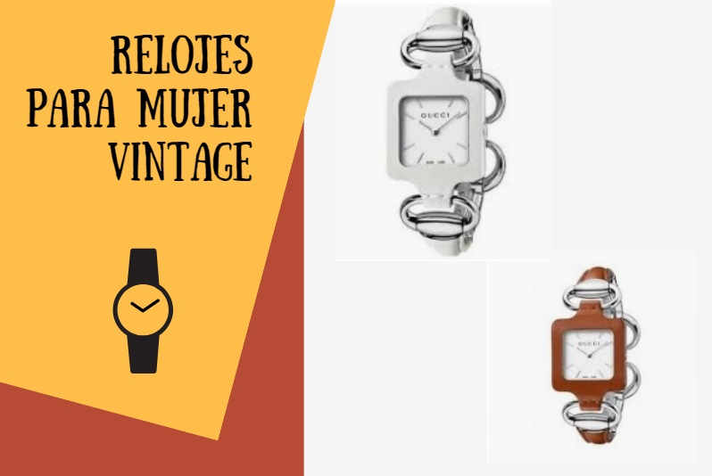 relojes gucci mujer vintage
