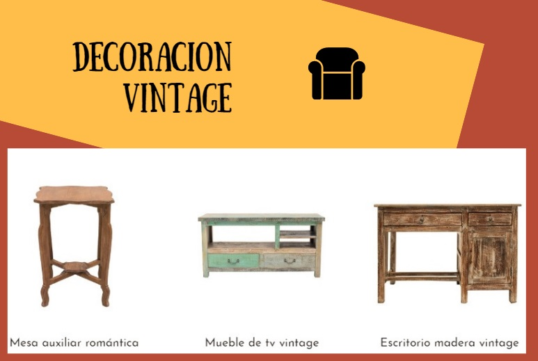 decoracion vintage muebles retro