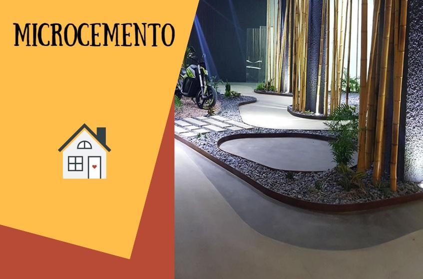 El Microcemento: material de construcción para la decoración vintage