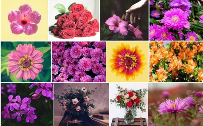Decoración Vintage con Rosas y otras Flores