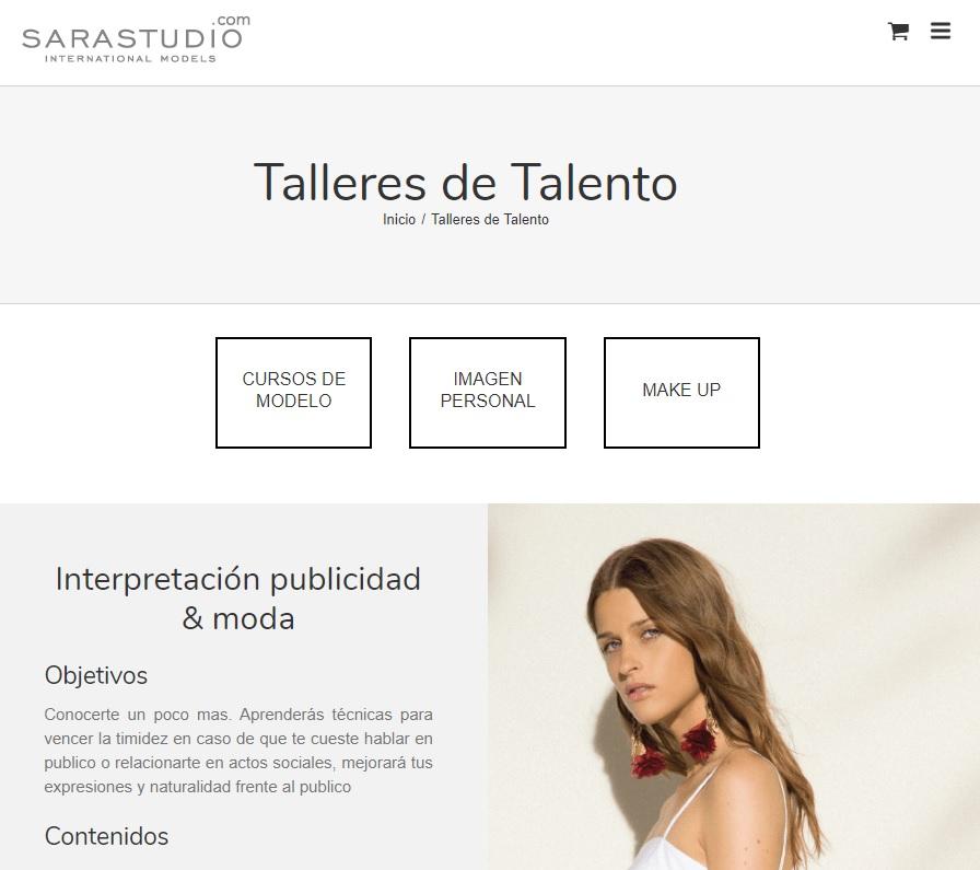 Talleres de Talento para Modelos