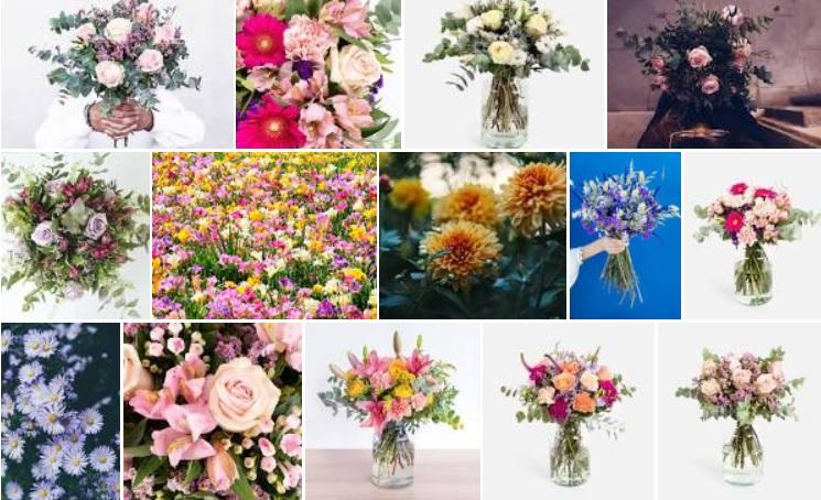 flores decoracion comedor