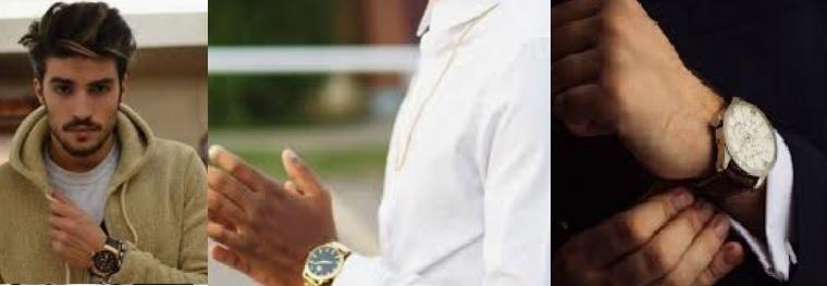 Cómo combinar relojes para hombre