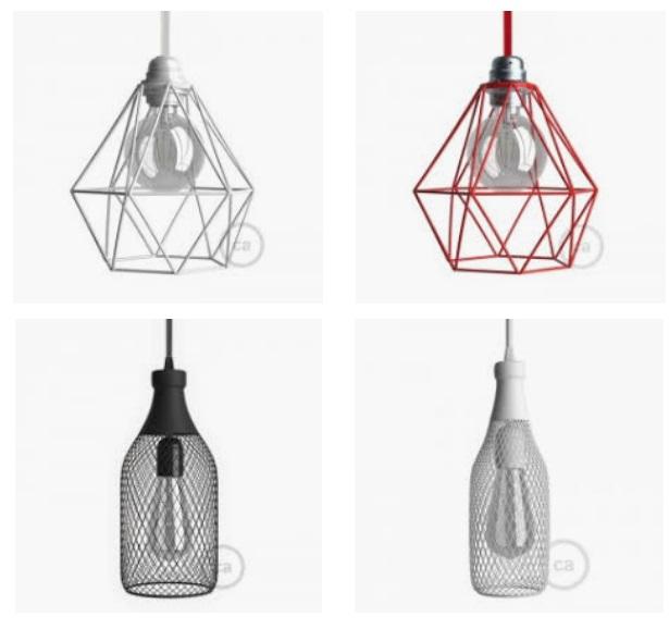 jaulas lamparas