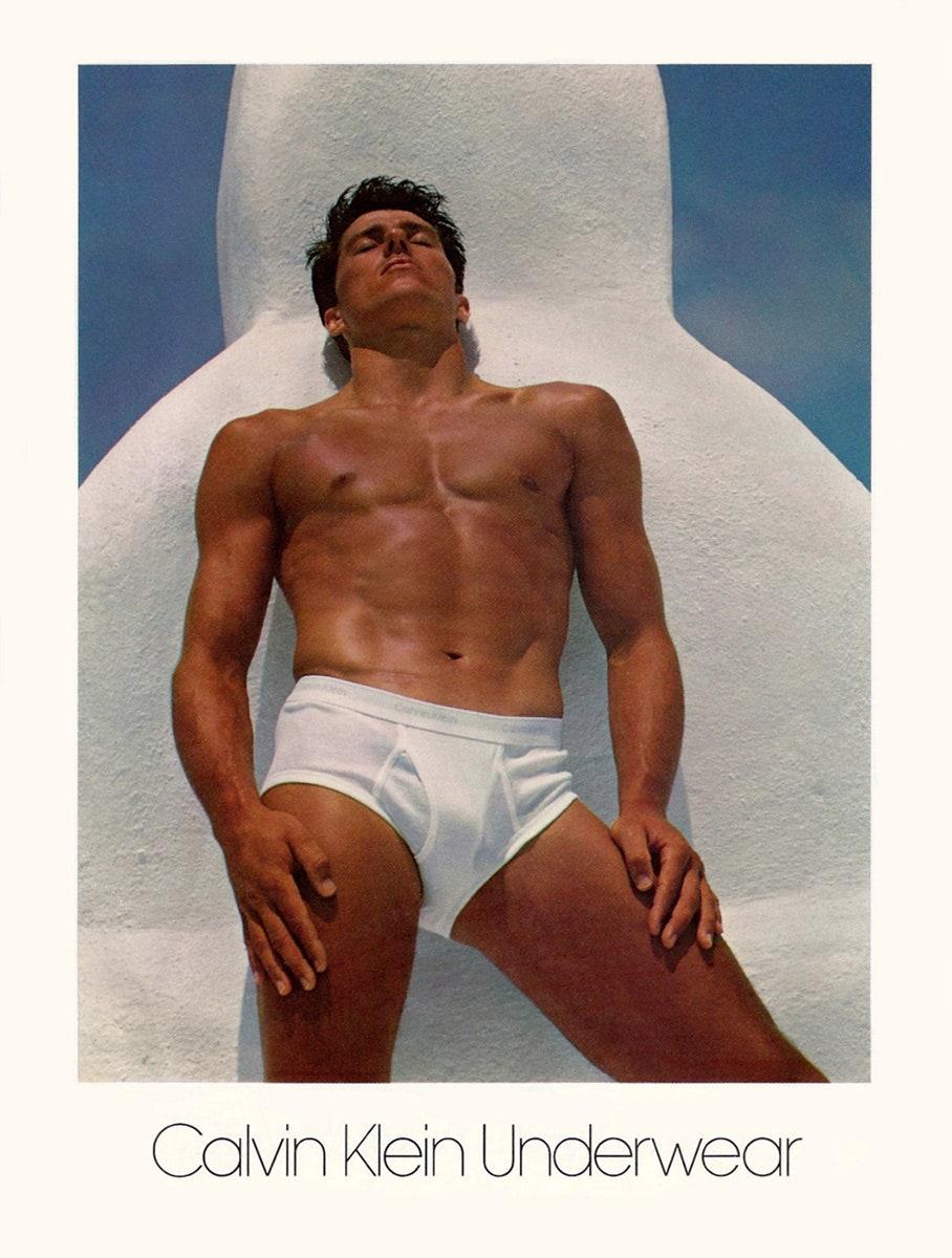 Calvin Klein Underwear Tom Hintnau por Bruce Weber 1982