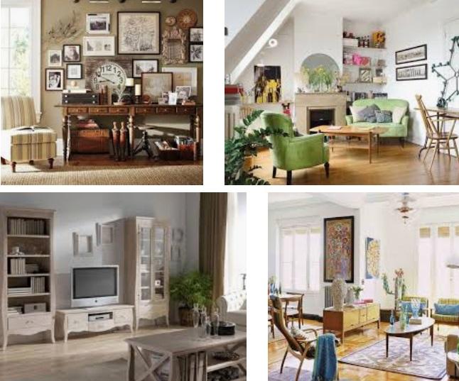 Tips para decorar un salón al estilo vintaje