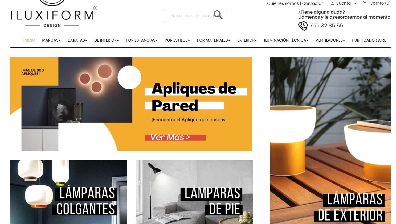 iluxiform tienda online lamparas
