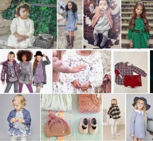 ropa infantil vintage