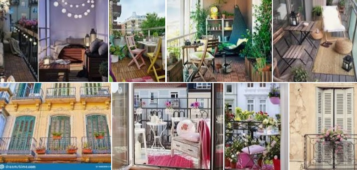Tips para decorar balcones o terrazas con estilo vintage