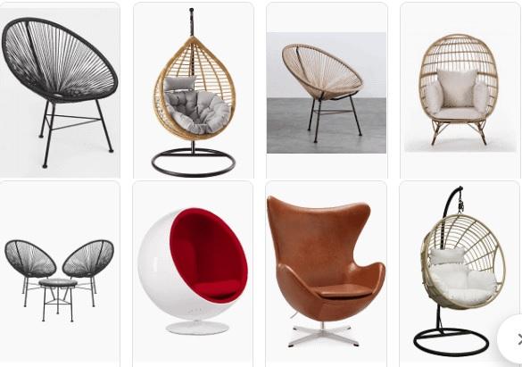 Las sillas y otros asientos más cómodos para tu hogar