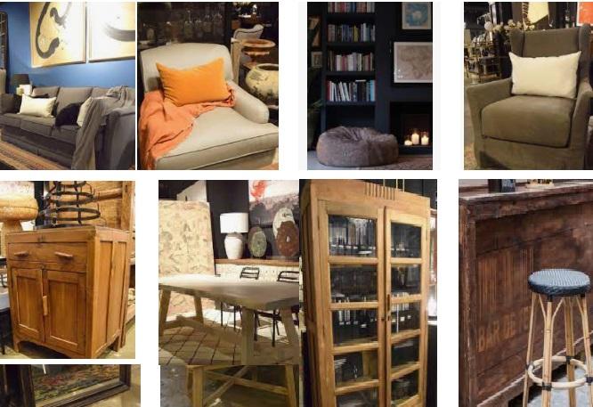 muebles decoracion estilo vintage